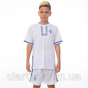 Форма футбольная детская SP-Sport ДИНАМО КИЕВ домашняя 2017 Sport CO-3900-DN1-B (PL, р-р XS-XL, рост