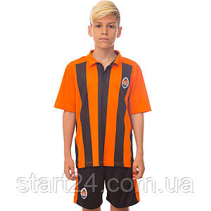 Форма футбольная детская SP-Sport ШАХТЕР домашняя 2017 Sport CO-3900-SH (PL, р-р XS-XL, рост 116-165см,