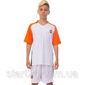 Форма футбольна дитяча SP Sport ШАХТАР гостьова 2017 Sport CO-3900-SH1 (PL, р-р XS-XL, ріст 116-165см,