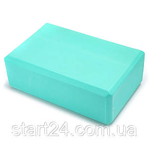 Блок для йоги SP-Planeta FI-5951 (EVA 180гр, р-р 23x15,5x8см, цвета в ассортименте)