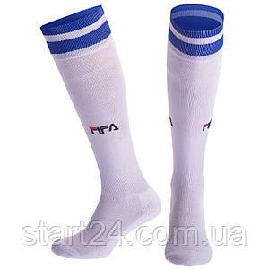 Гетры футбольные мужские FIFA CO-5507 (хлопок, нейлон, размер 40-45, цвета в ассортименте)