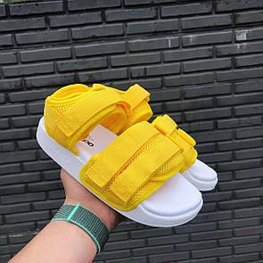 Женские сандалии Adidas Adiltte sandals yellow 39
