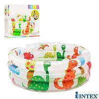 Детский надувной бассейн Intex 57106 Динозаврики, Надувные бассейны
