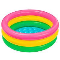 Детский надувной бассейн Intex 57107 61х22 см, Надувные бассейны