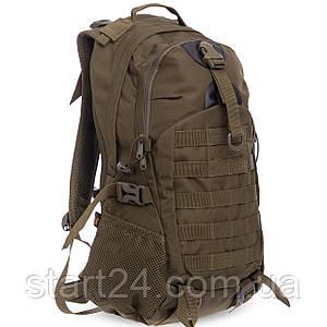 Рюкзак тактический трехдневный SILVER KNIGHT 5.11 35 литров TY-036 (нейлон, оксфорд 900D, размер 50х32х19см,