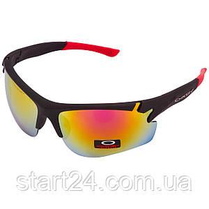 Очки спортивные солнцезащитные OAKLEY MS-8870 (пластик, акрил, цвета  в ассортименте)