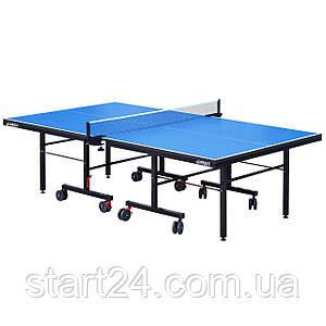 Тенісний стіл GSI-MT Sport-0931 (G-profi) (складаний,ДСП товщина 25мм, метал, розмір 2,74х1,52х0,76м, вага
