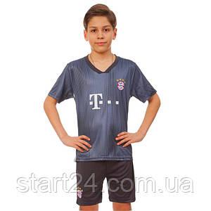 Форма футбольная детская BAYERN MUNCHEN резервная 2019 SP-Planeta CO-7297 (р-р 20-28-6-14лет, 110-155см,