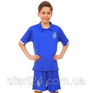 Форма футбольная детская SP-Sport ДИНАМО КИЕВ гостевая 2019 Sport CO-8098 (PL, р-р XS-XL, рост 116-165см,