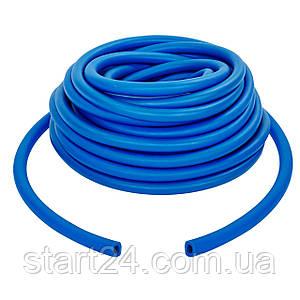 Джгут еластичний трубчастий, борцівський джгут FI-6253-2 (латекс, d-5 x 9мм, l-1000см, синій)