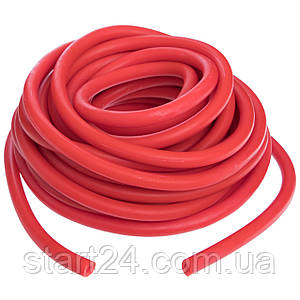 Жгут эластичный трубчатый, борцовский жгут FI-6253-4 (латекс, d-5 x 11мм, l-1000см, красный)