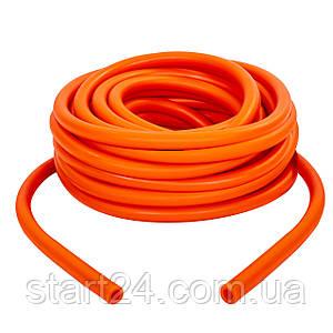 Жгут эластичный трубчатый, борцовский жгут FI-6253-6 (латекс, d-6 x 10мм, l-1000см, оранжевый)