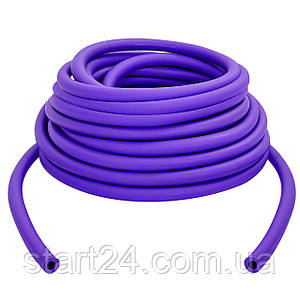 Жгут эластичный трубчатый, борцовский жгут FI-6253-7 (латекс, d-6 x 11мм, l-1000см, фиолетовый)