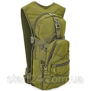 Рюкзак тактический патрульный с местом под питьевую систему SILVER KNIGHT 10 литров TY-06 (нейлон, оксфорд