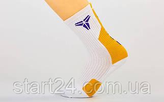 Носки спортивные для баскетбола COL302 (нейлон, хлопок, р-р 40-45, цвета в ассортименте)