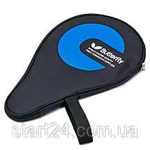 Чехол на ракетку для настольного тенниса BUT MT-5532 (полиэстер, р-р 30х21см, цвета в ассортименте), фото 2