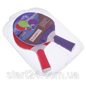 Набор для настольного тенниса 2 ракетки GIANT DRAGON OUTDOOR MT-5684 (термопластик) 15PR151123