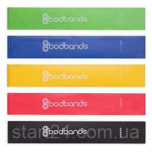 Ленты сопротивления набор 5шт LOOP BANDS FI-6318 (размер: 600x50мм, толщина-0,35мм, 0,5мм, 0,7мм,1мм, 1,2мм,