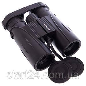 Бинокль COMET 8х42 TY-1295 (пластик, стекло, PVC-чехол, черный)