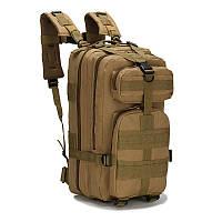 Штурмовой тактический рюкзак 25л, многофункциональный рюкзак койот Oxford 600D