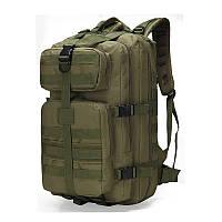Тактический штурмовой рюкзак 35л, многофункциональный рюкзак олива