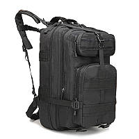 Тактический штурмовой рюкзак 45л, многофункциональный рюкзак черный
