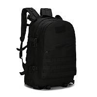 Тактический штурмовой рюкзак 06 45л, многофункциональный рюкзак черный