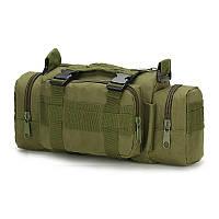 Тактический штурмовой подсумок, универсальная сумка армейская олива