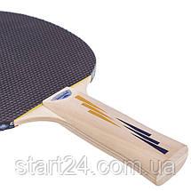 Ракетка для настільного тенісу 1 штука DONIC LEVEL 200 MT-703002 APPELGREN (деревина, гума), фото 2