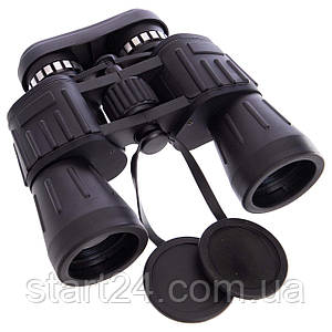 Бинокль COMET 10х50 TY-4356 MILITARY-2 (пластик, стекло,PVC-чехол,h х l-17см х19см, черный), (TY-50CT,10х50)