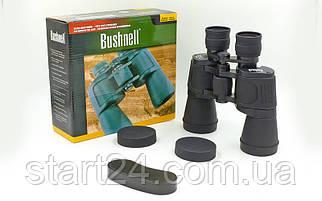 Бинокль BUSHNELL 20х50 TY-4518 (пластик, стекло, PVC-чехол), (JXC750, 7х50, черный)