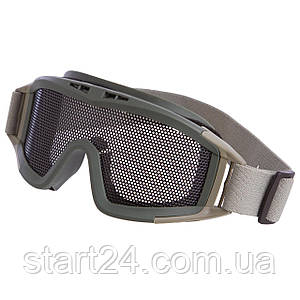 Захисні окуляри для військових ігор з пейнтболу та страйкболу TY-5549 кольори в асортименті