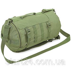 Рюкзак-сумка тактический штурмовой RECORD 5 литров TY-6010 (нейлон, оксфорд 600D, размер 25х23х10см, цвета в
