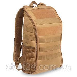 Рюкзак тактический штурмовой SILVER KNIGHT 15 литров TY-608 (нейлон, оксфорд 900D, размер 42x23x13см, цвета в