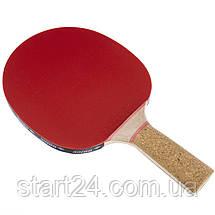 Ракетка для настольного тенниса 1 штука DONIC LEVEL 600 MT-728461 PERSSON (древесина, резина), фото 3