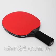 Ракетка для настольного тенниса 1 штука DONIC LEVEL 700 MT-734403 SENSATION (древесина, винил, резина), фото 2