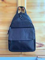Женский кожаный городской рюкзак коричневый / женские рюкзаки / из кожи
