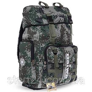 Рюкзак туристический бескаркасный DAIWA 35 литров TY-6919 (полиэстер, нейлон, размер 49+10х35х19см, цвета в