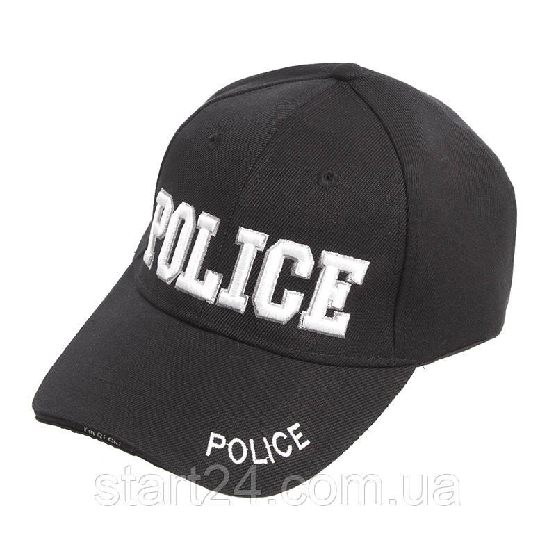 Бейсболка тактическая Police TY-7049 черный