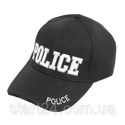Бейсболка тактическая Police TY-7049 черный, фото 2