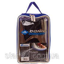 Сетка для настольного тенниса с клипсовым креплением DONIC МТ-808335 Clipmatic (металл, NY, PVC чехол), фото 3