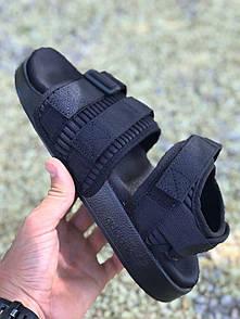 Женские сандалии Аdidas adilette sandals mono black 39