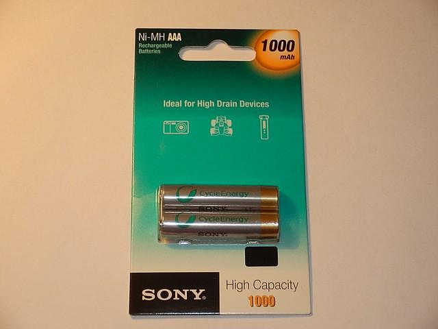 Sony 1000mAh NiMH