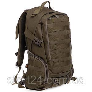 Рюкзак тактический штурмовой SILVER KNIGHT 30 литров TY-9332 (нейлон, оксфорд 900D, размер 40х26х15см, цвета в