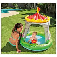 Детский надувной бассейн интекс 57122 Королевский замок (122X122 СМ), Надувные бассейны
