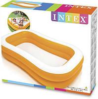 Бассейн детский надувной Intex 57181 (229-147-46 см), Надувные бассейны