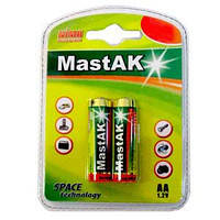Аккумулятор MastAK NiMh 1300mAh 2BL AA