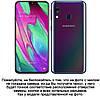 """Чехол со стразами силиконовый прозрачный противоударный TPU для Samsung A40 A405F """"DIAMOND"""", фото 2"""
