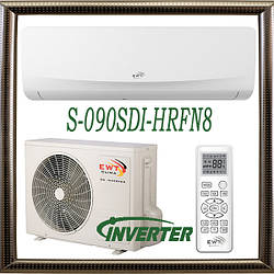 EWT S-090SDI-HRFN8 до 25 кв.м. инверторный кондиционер серия Breeze до -15С