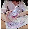 """Силіконовий чохол зі стразами рідкий протиударний TPU для Samsung A20 А205F """"MISS DIOR"""", фото 5"""